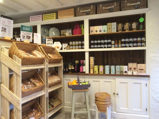 Lavenders Tea Rooms Shop & Takeaway: The shop and takeaway