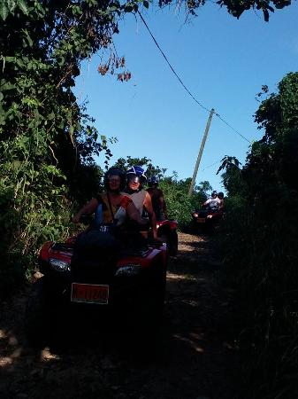 Oyster Pond, St. Maarten/St. Martin: Fun trails