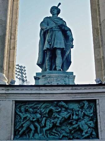 Statue of Imre Thokoly