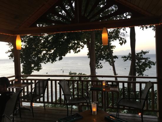Castara, Tobago: restaurant