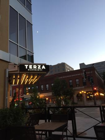 Nice Out On The Patio Picture Of Terza Ristorante Rochester - Out on the patio