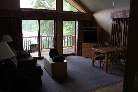 Alpine Meadows Resort: Living room