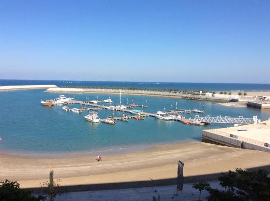 Al Mussanah, Omán: Room with an awesome view
