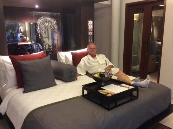 Royal Kamuela Ubud: Wonderful bed