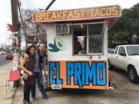 El Primo Taco Stand: Los mejores Tacos de Austin!!!