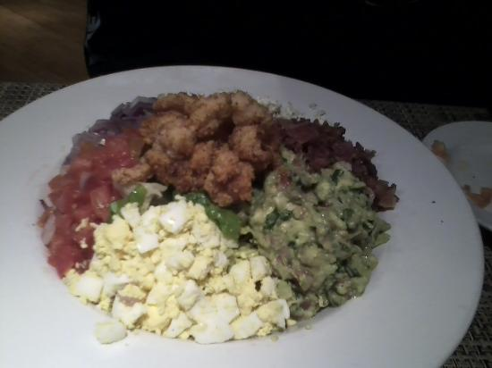 Brecksville, OH: Creol shrimp Cobb salad