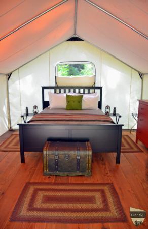 Olga, واشنطن: LEANTO | Moran State Park Glamping Tent
