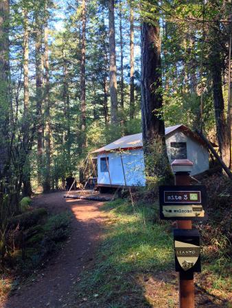 Olga, واشنطن: LEANTO | Moran State Park Glamping | Site 3