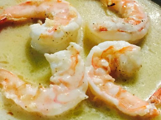 El Matador: Tequila shrimp