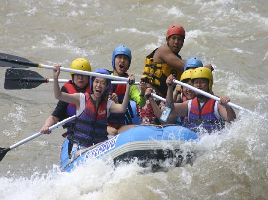 Sabah, Malaysia: White Water Rafting