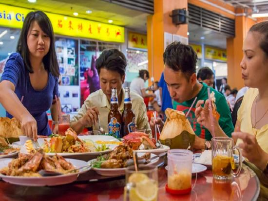 Sabah, Malaysia: Welcome Seafood Restaurant