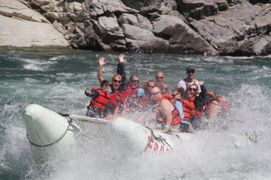 Fraser River Rafting: Thompson River power rafting