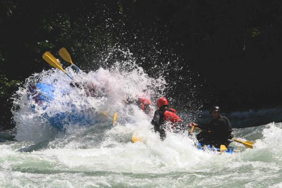 Fraser River Rafting: NAHATLATCH