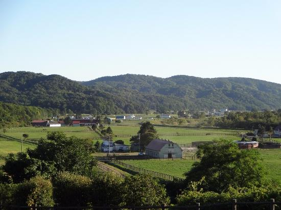 Urakawa-cho, Japon: 展望台からの風景