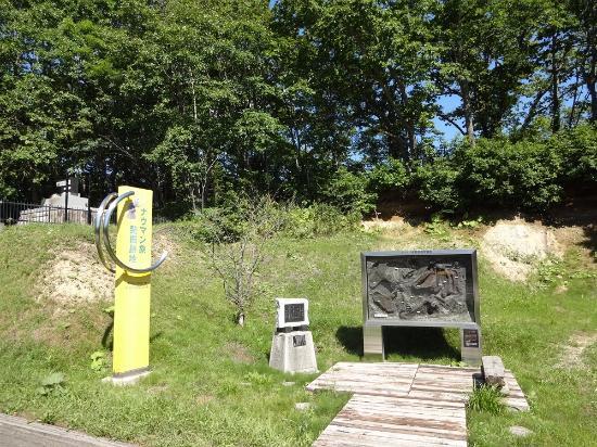 Makubetsu-cho, Japan: 発掘時の模型