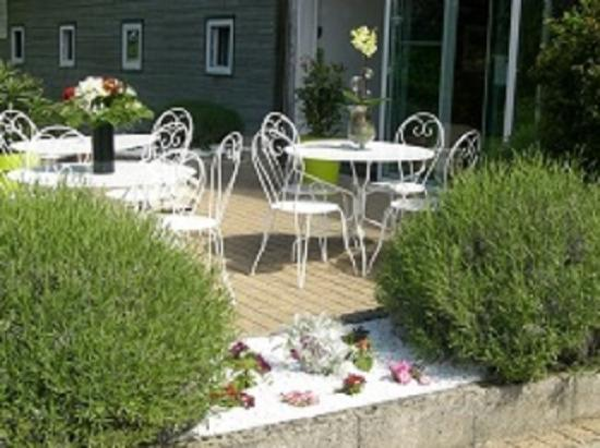 Champforgeuil, Francia: Terrasse