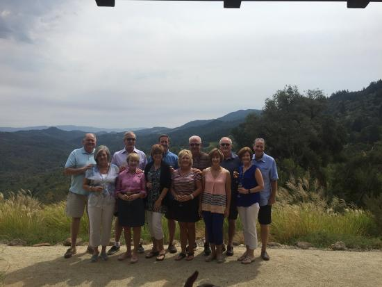 Healdsburg, Kaliforniya: Wine tour on the top on Mt Veeder