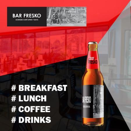 Gordon, Australia: We provide wide range of drinks at bat fresko