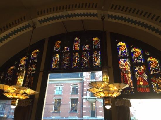Glas In Lood Amsterdam.Glas In Lood Raam Picture Of American Hotel Amsterdam