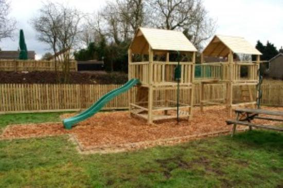 Clutton, UK: Play area Warwick