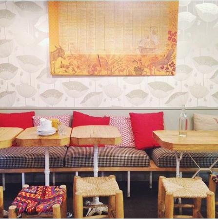 foto de mure par s int rieur cosy et chaleureux tripadvisor. Black Bedroom Furniture Sets. Home Design Ideas