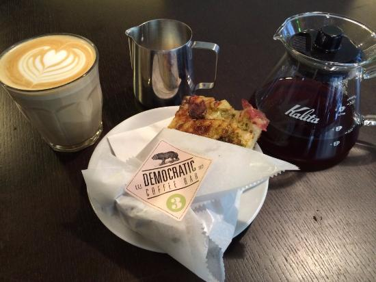 Photo of Cafe Democratic Coffee at Krystalgade 15, Copenhagen, Denmark