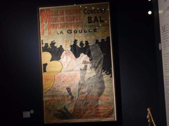 Palazzo Blu : Un manifesto di Toulouse-Lautrec