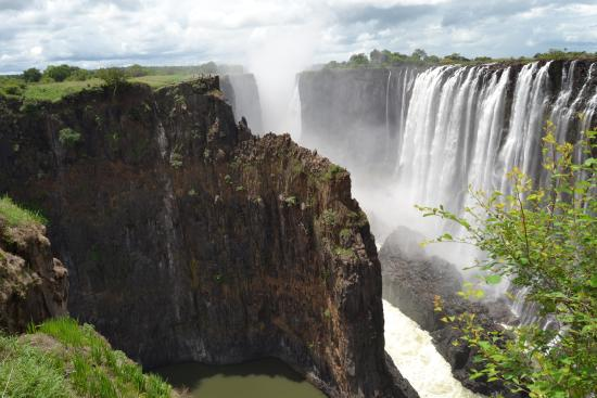 Victoria Falls, Zâmbia: Taken from the Zambia side of the Zambezi River