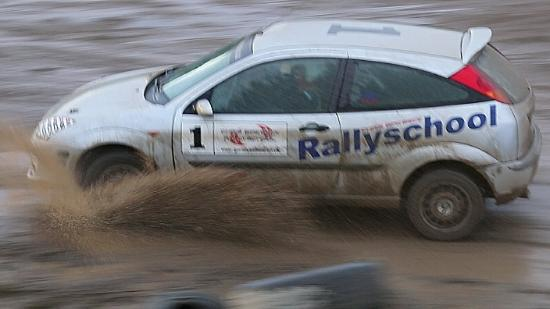Chris Birkbeck Rally School