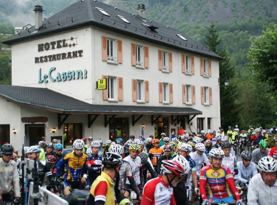 Le Freney d'Oisans, Frankreich: Famous cycling event at our doorstep