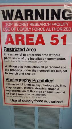 Rachel, Невада: Area 51