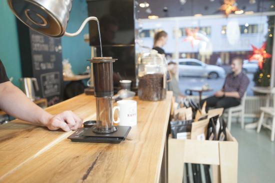 Kouvola, فنلندا: aeropress coffee