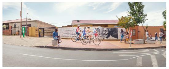 Afrique du Sud : Mural