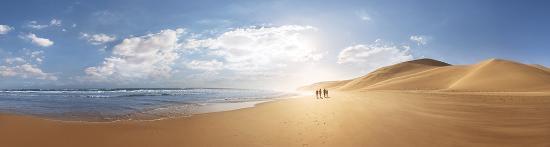 Sør-Afrika: Beach Pano