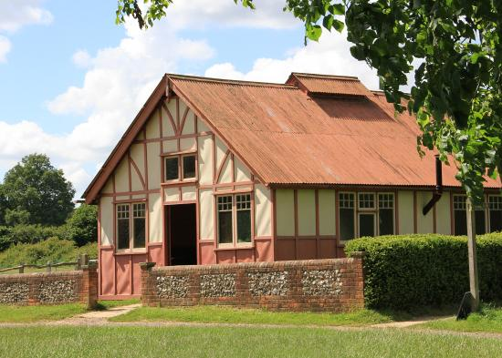 Chalfont St. Giles, UK: Victorian vicarage at Chiltern Open Air Museum