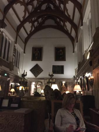 Fawsley, UK: The great hall