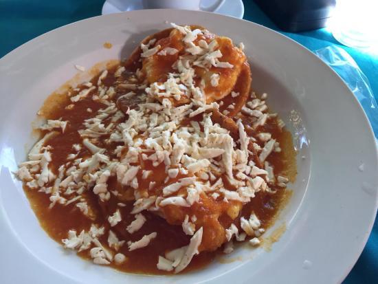 Brasilito, Costa Rica: best huevos rancheros!