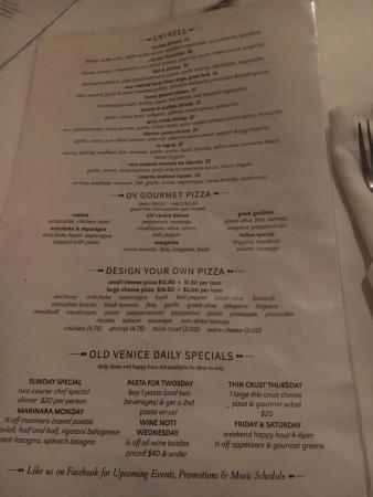 Old Venice Italian Restaurant