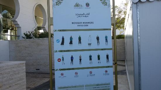 Mezquita Sheikh Zayed: Esterno