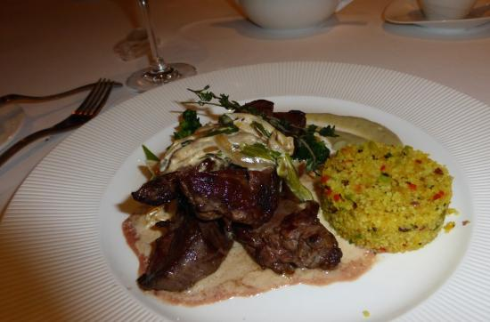 Monet Fine Dining: Lamb Steak Monet