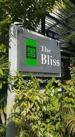 The Bliss Hotel: ป้ายด้านหน้า