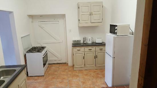 Ladismith, Sudáfrica: Self catering unit kitchen