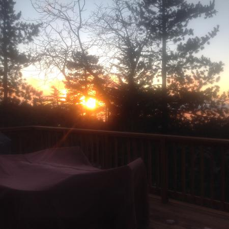 Idyllwild, CA: What a sunset!