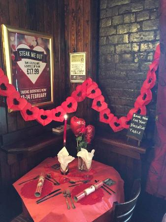 Washington, UK: book you valentines table here, great food, great prices.