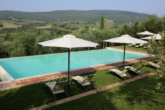 Fattoria Abbazia Monte Oliveto: Swimming pool