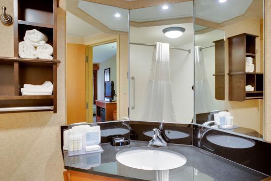 Hampton Inn Pittsburgh Greentree: Double Queen Bathroom
