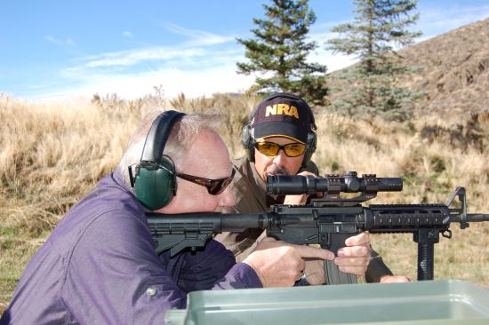 Sun Valley, ID: shooting the AR15