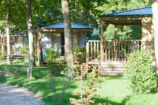 Camping Indigo Paris Bois de Boulogne : Mobile-homes