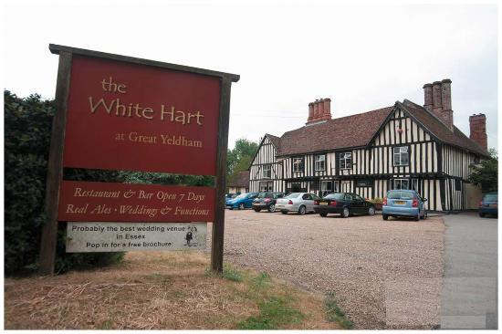 Halstead, UK: The White Hart Great Yeldham