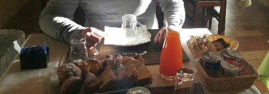 Mercatello sul Metauro, Italien: La colazione